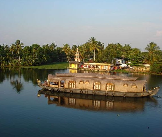 Traversing Backwaters of Kuttanad