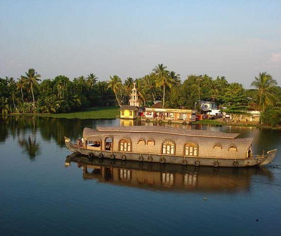 Traversing Backwaters of Kuttanad
