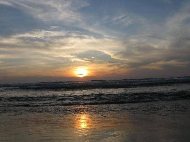 Sunset Near Kovalam