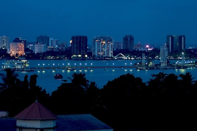 Cochin City at Night