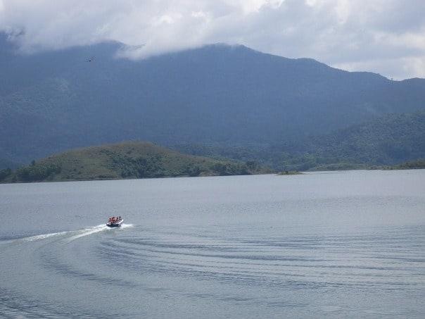 Boating at Banasura Sagar Dam