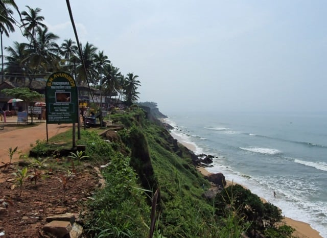 Varkala Cliff Beach
