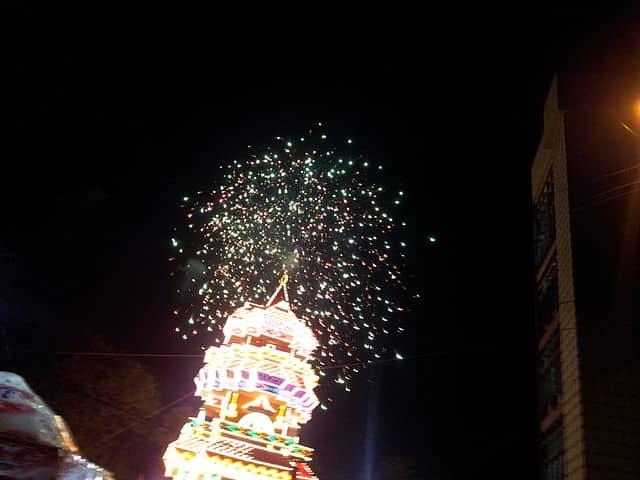 Fireworks Thrissur Pooram