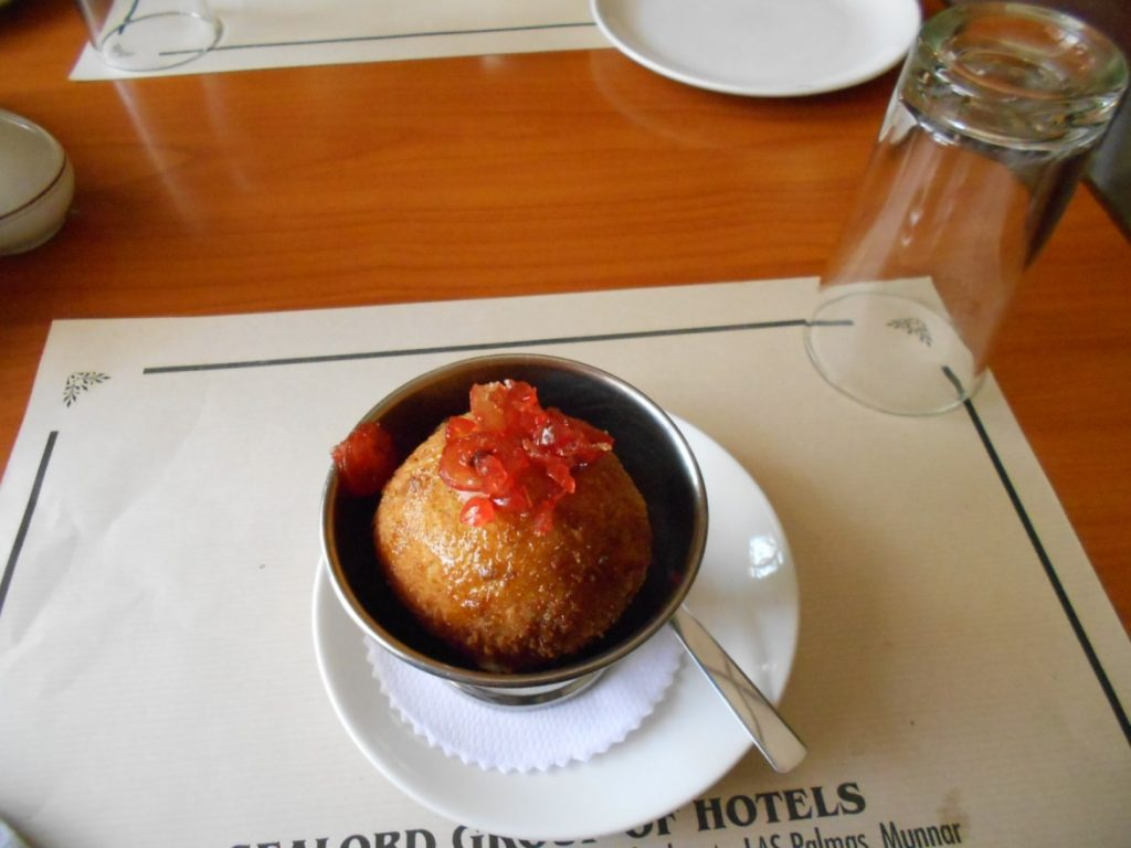 Fried Icecream at Hotel Silver Crest
