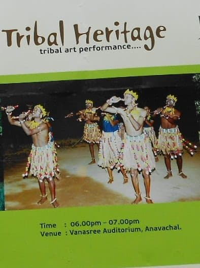 Tribal art performance