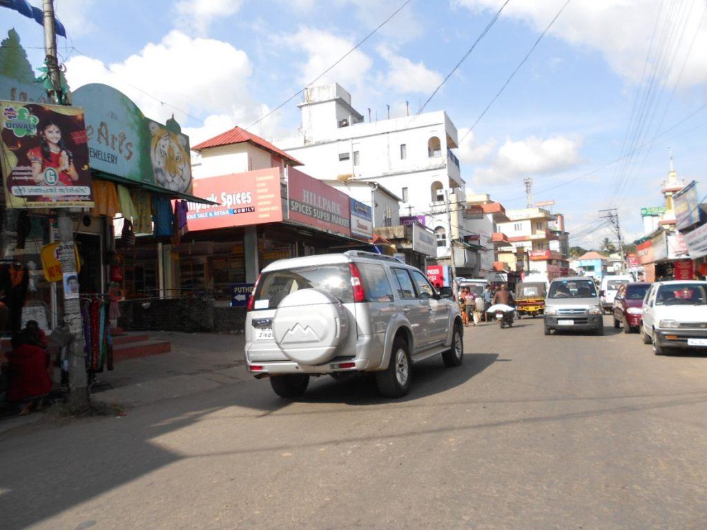 Street at Thekkady