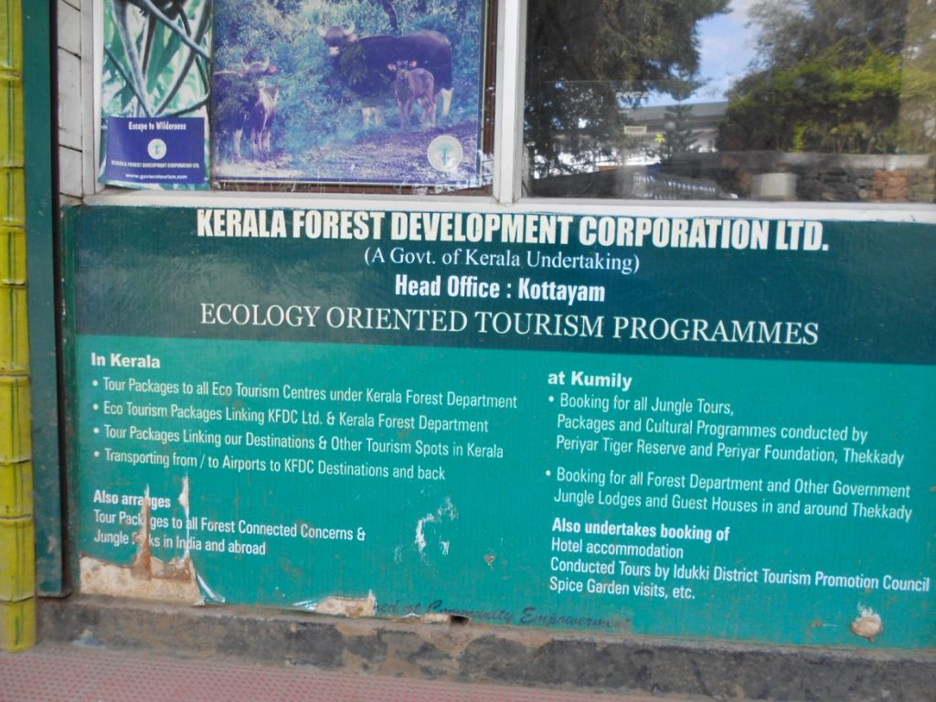 Conducted ecotourism tours