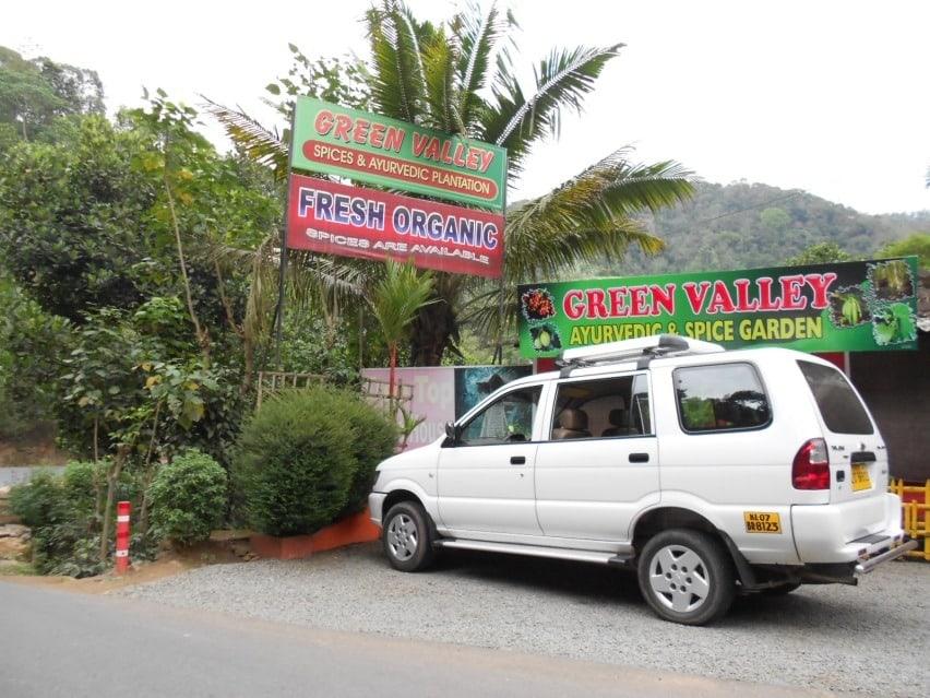 Spice Garden visit