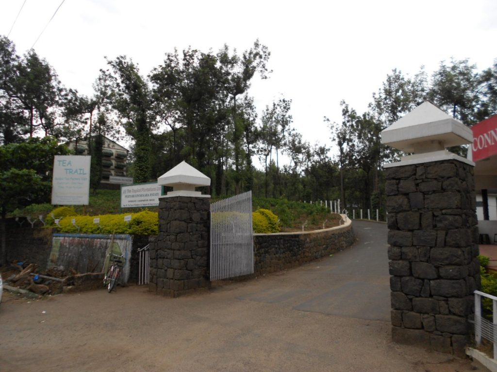 Tea Factory at Thekkady