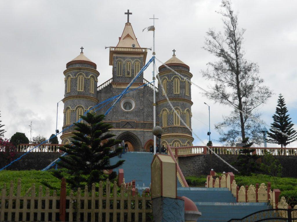 Church at Thekkady