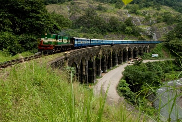 Thenmala Railbridge