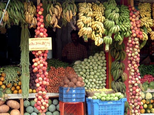 Fruit Shop in Kerala