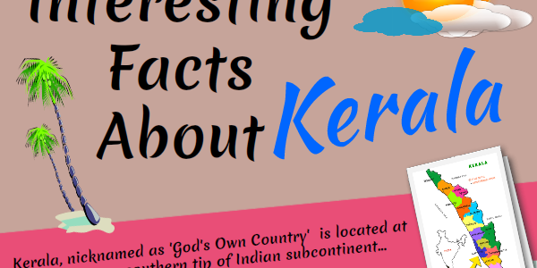 Infographic : Interesting Facts About Kerala