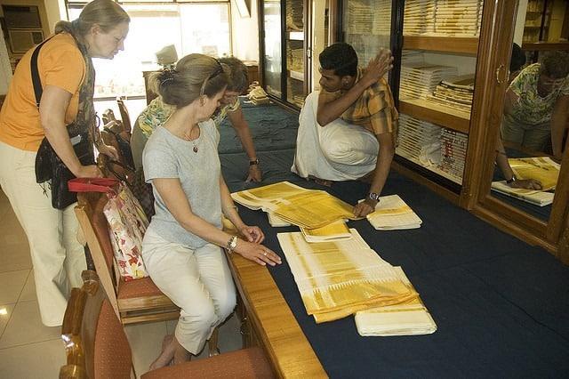Kerala Sari Shopping