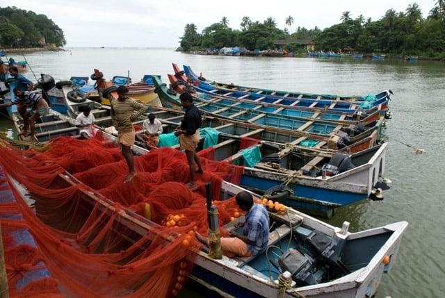 Fishermen at Mahe