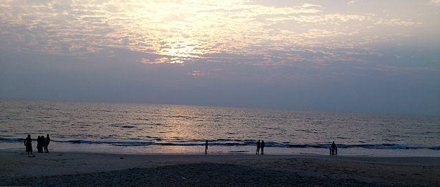 Kappad Beach at Sunset