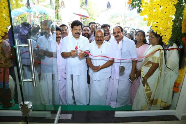 Ribbon Cutting Ceremony - by Shri A. P. Anil Kumar
