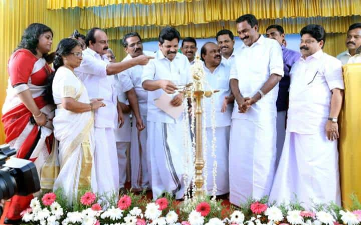 Inaugurating by Lighting the Lamp
