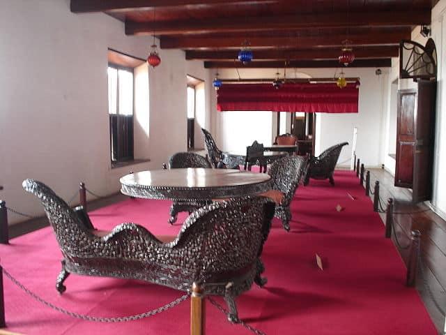Furniture Display at Arakkal Palace Museum