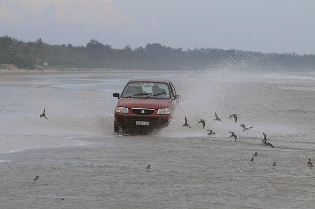 Drive in Beach Muzhuppilangad
