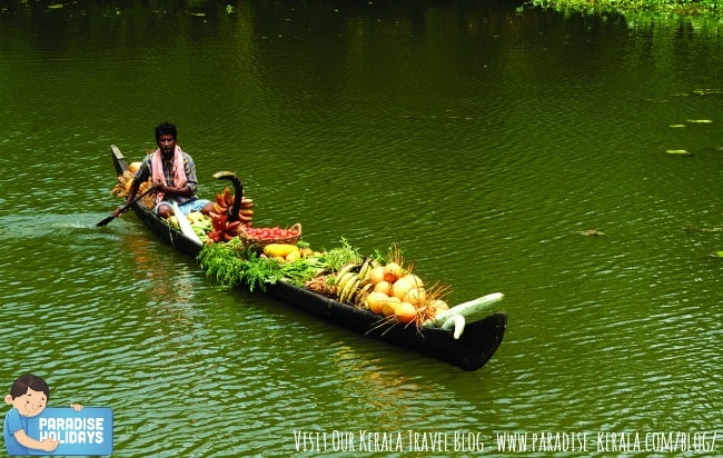 Villager on Country boat