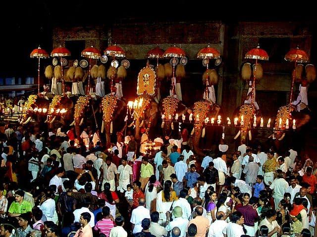 Arattupuzha Temple Pooram