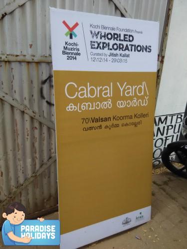 Cabral Yard Entrance