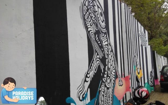 Wall Paintings on Street Walls
