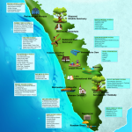 Must Visit Tourist Destinations in Kerala - Infographic