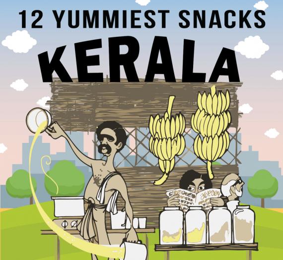 12 Yummiest Snacks in Kerala