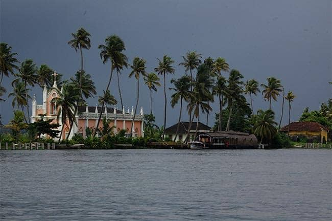 Backwaters near Alleppey