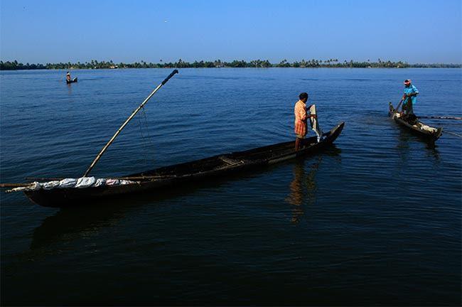 Lake Ashtamudi
