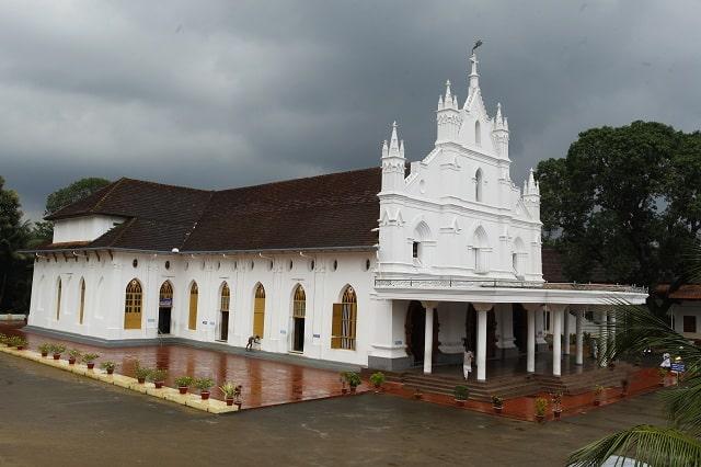 St Marys Church Bharananganam