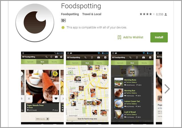 Food-spotting