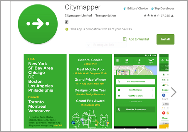 city-mapper