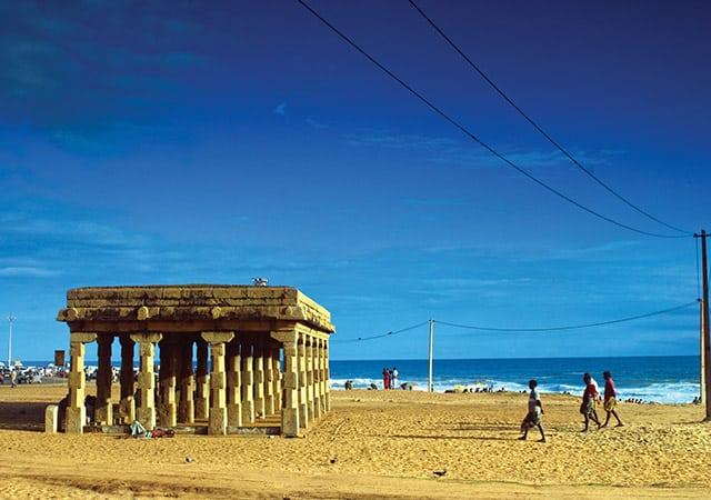 mandapam at shangumugham beach