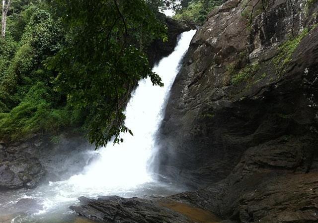 Sentinal Rock Waterfall