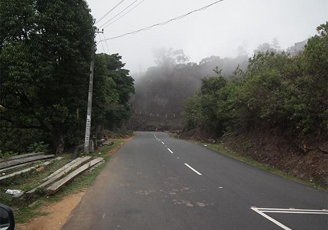 Snap from Kuttikanam Junction