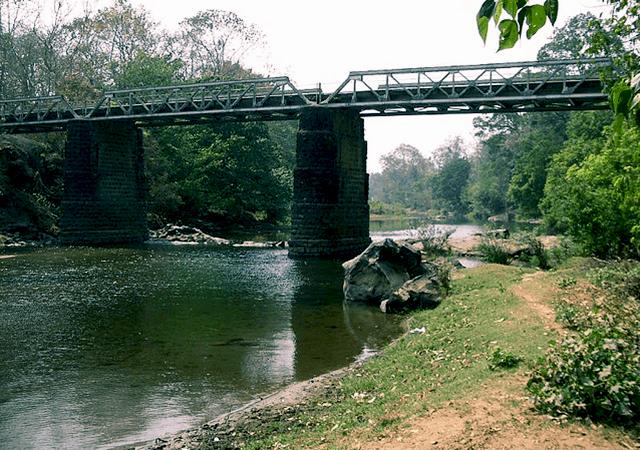 Nedungayam Bridge Nilambur