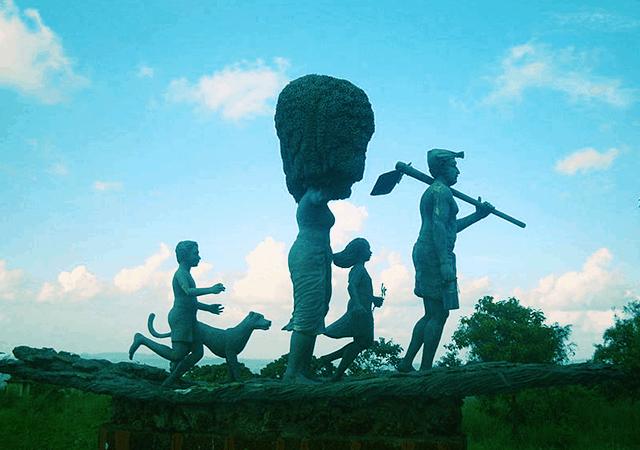 Stone Sculptures at Vilangan Hills