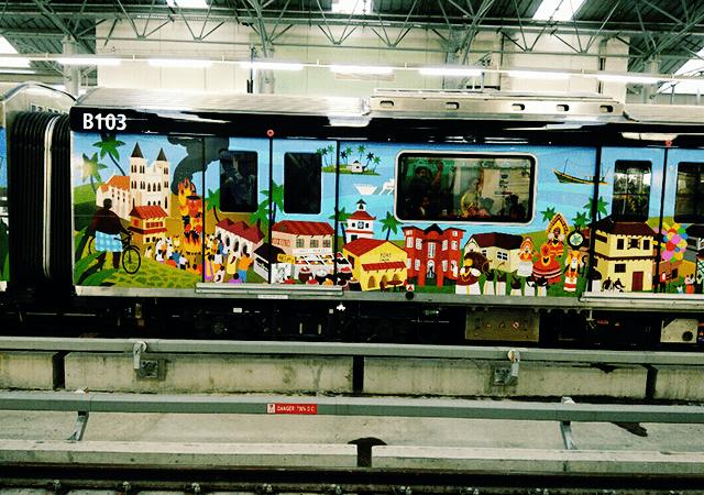 Theme Based Designs on Kochi Metro