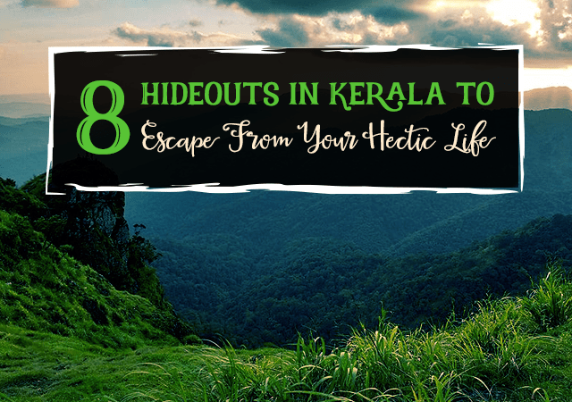 8 Hideouts in Kerala to Escape From Your Hectic Life
