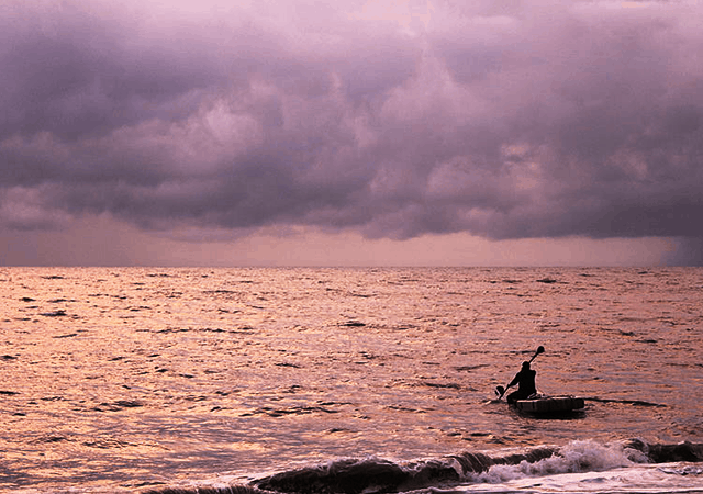 Mararikulam Beach Fisherman