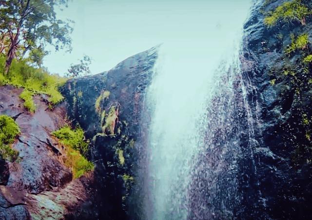 Aali Veena Waterfall Sideview