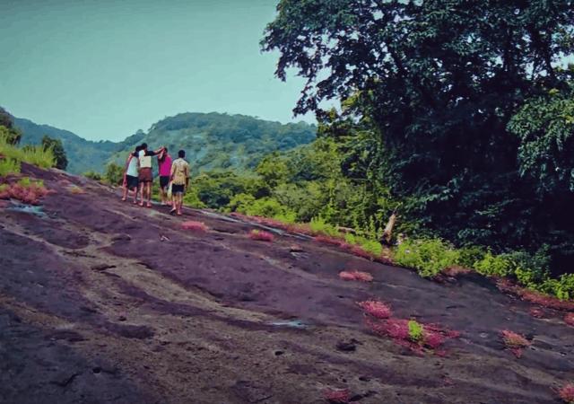 People Trekking at Aali Veena Kuthu