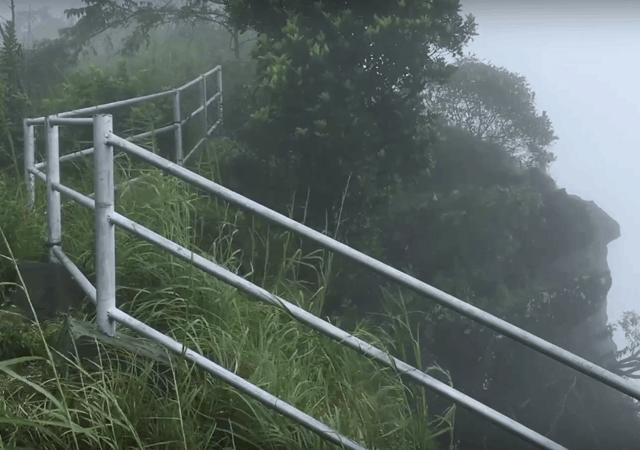 Handrail at Kattadikadavu