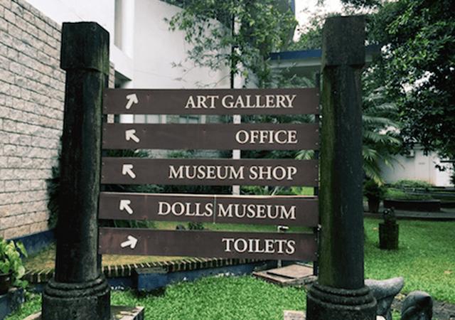 Direction Board Kerala Museum