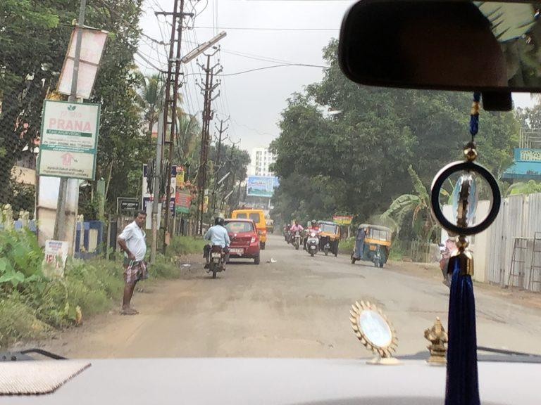 Leaving Aluva towards Munnar