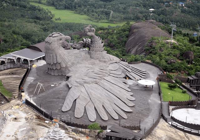 Jadayu Bird Sclupture