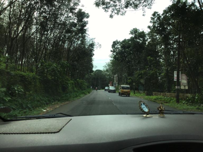 Driving towards Neriyamangalam from Kothamangalam